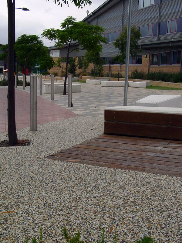 Outdoor Pavers Dandenong : Permeable feature k hill blue
